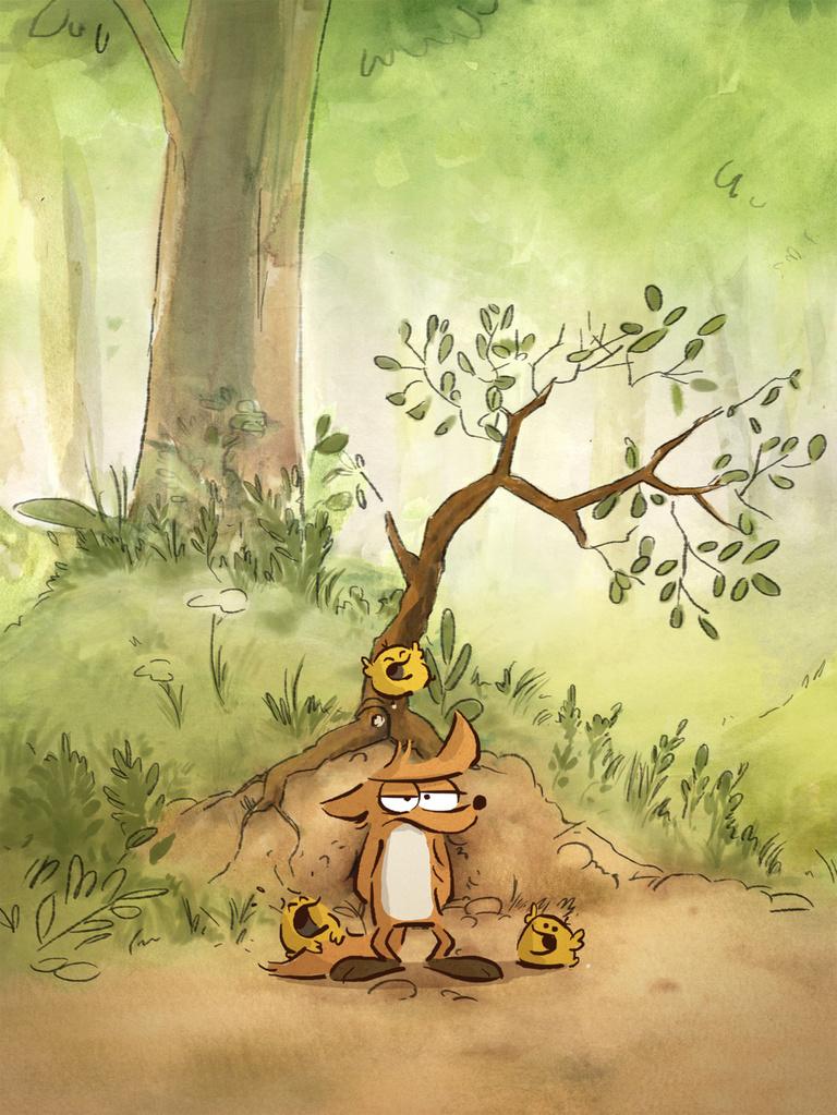 Большой злой лис и другие сказки кадр 2