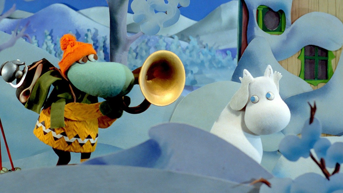 Муми-тролли и Зимняя сказка кадр 2