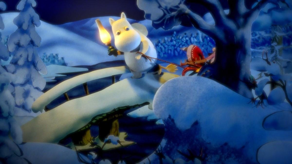 Муми-тролли и Зимняя сказка кадр 6