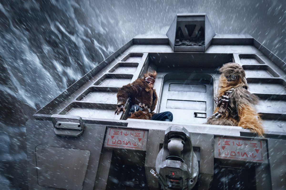 Хан Соло. Звездные войны: Истории кадр 16