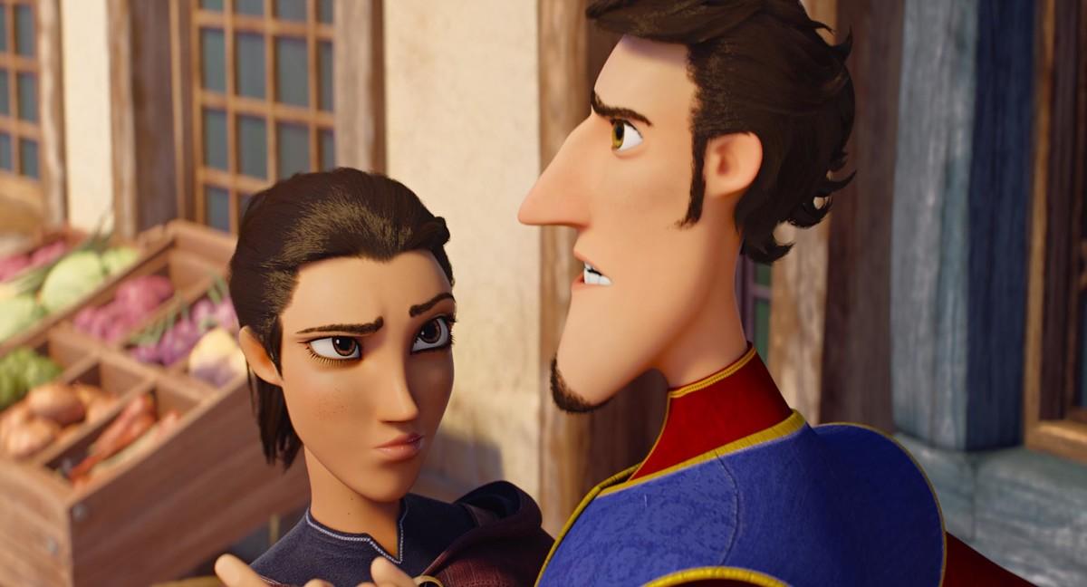 Распрекрасный принц кадр 6