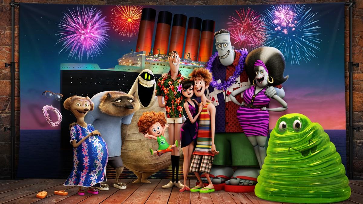 смотреть Монстры на каникулах 3: Море зовет в кинотеатрах Москвы