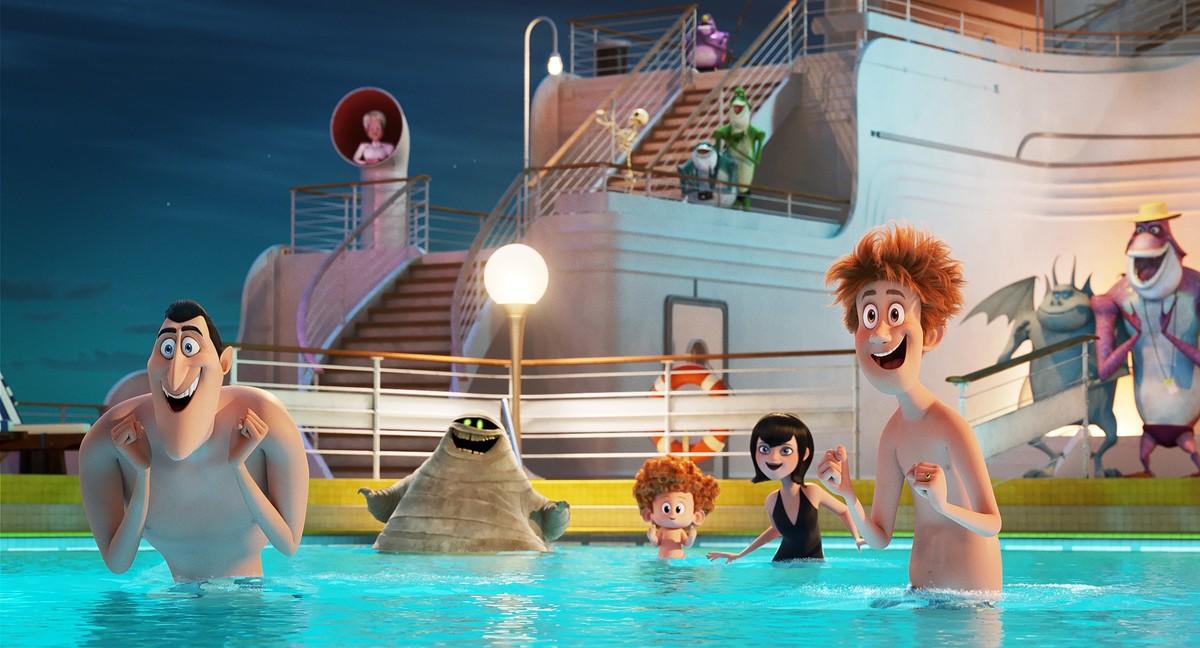 Монстры на каникулах 3: Море зовет кадр 8