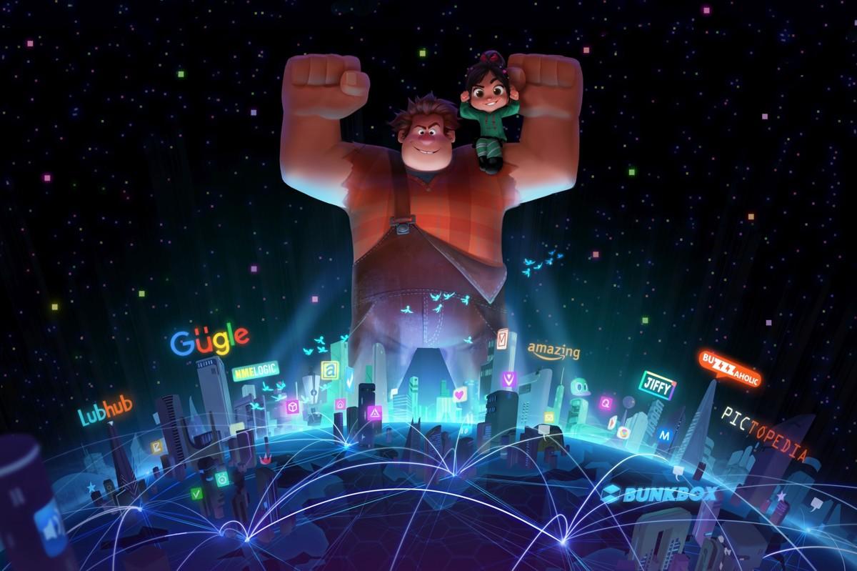 смотреть Ральф против интернета в кинотеатрах Москвы