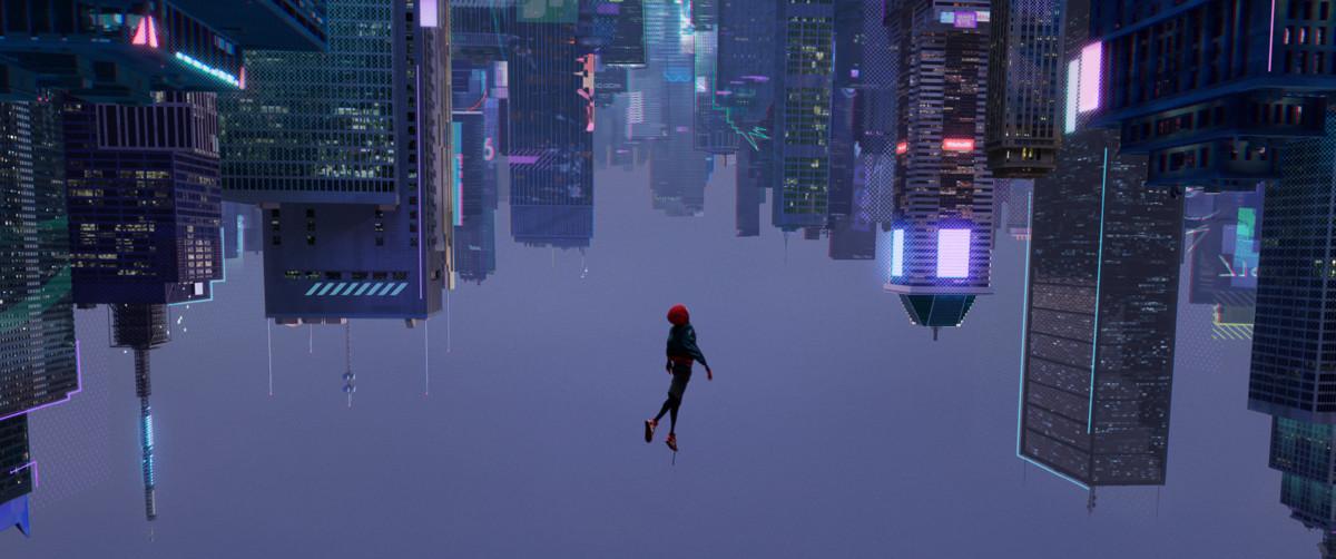смотреть Человек-паук: Через вселенные в кинотеатрах