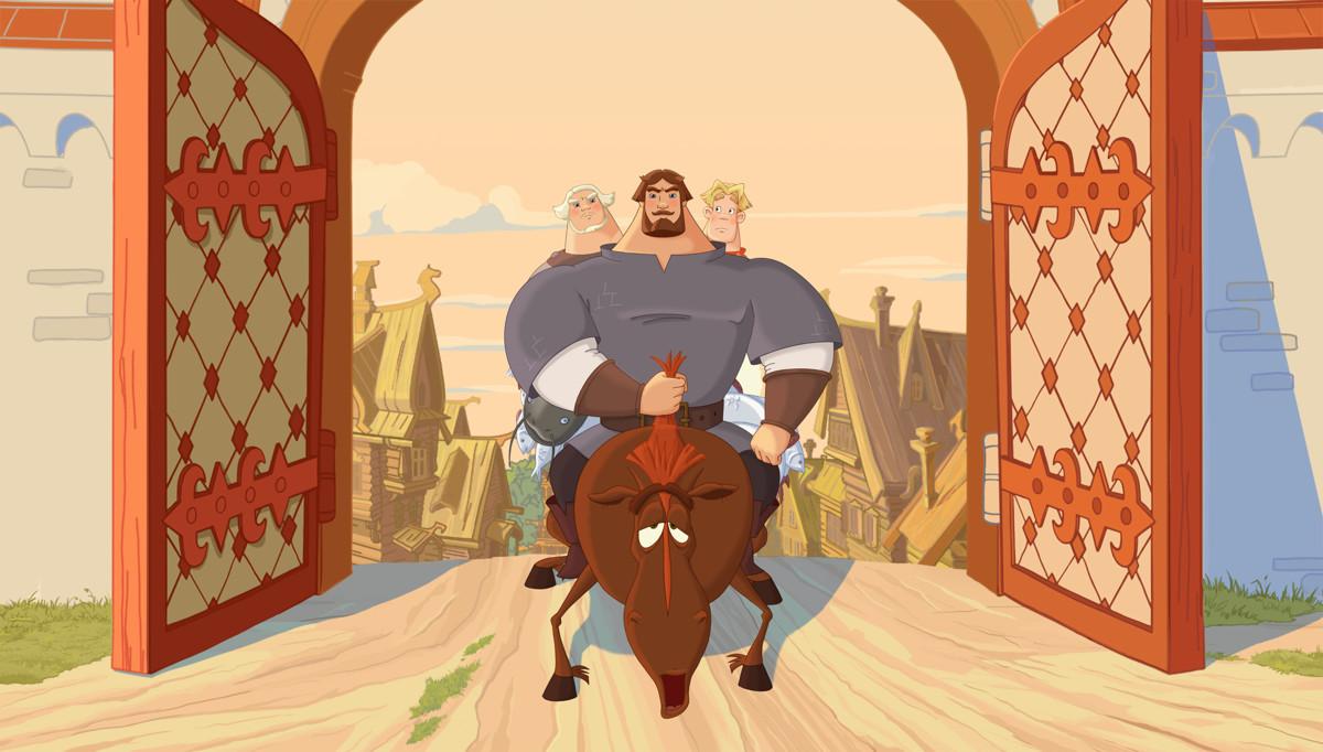 Три богатыря и Наследница престола кадр 10