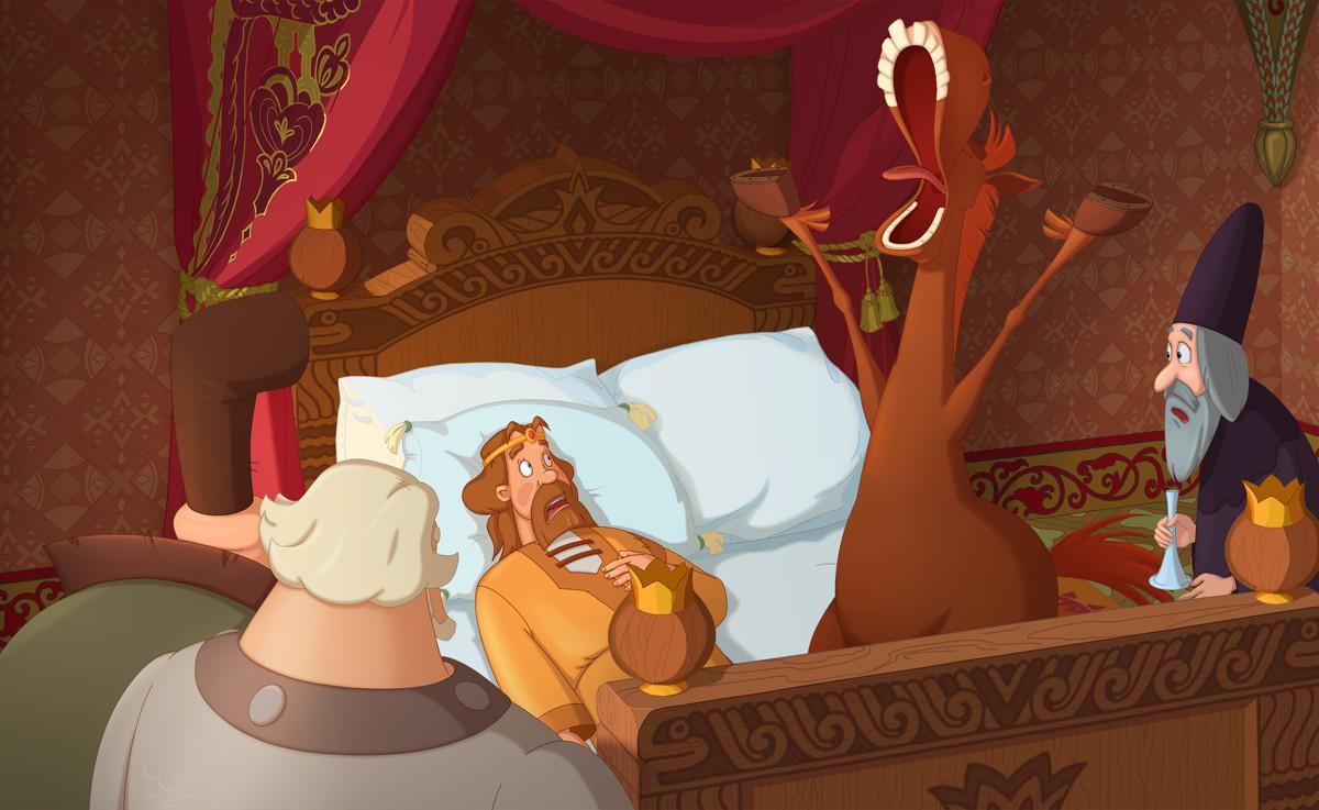 Три богатыря и Наследница престола кадр 12