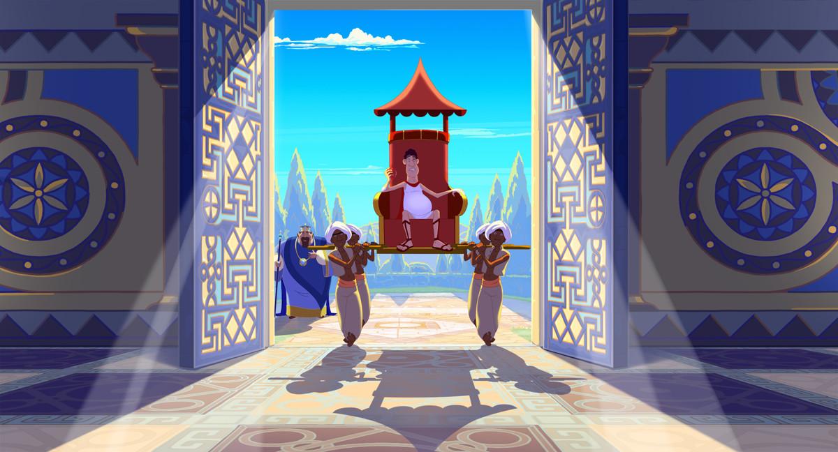 Три богатыря и Наследница престола кадр 14