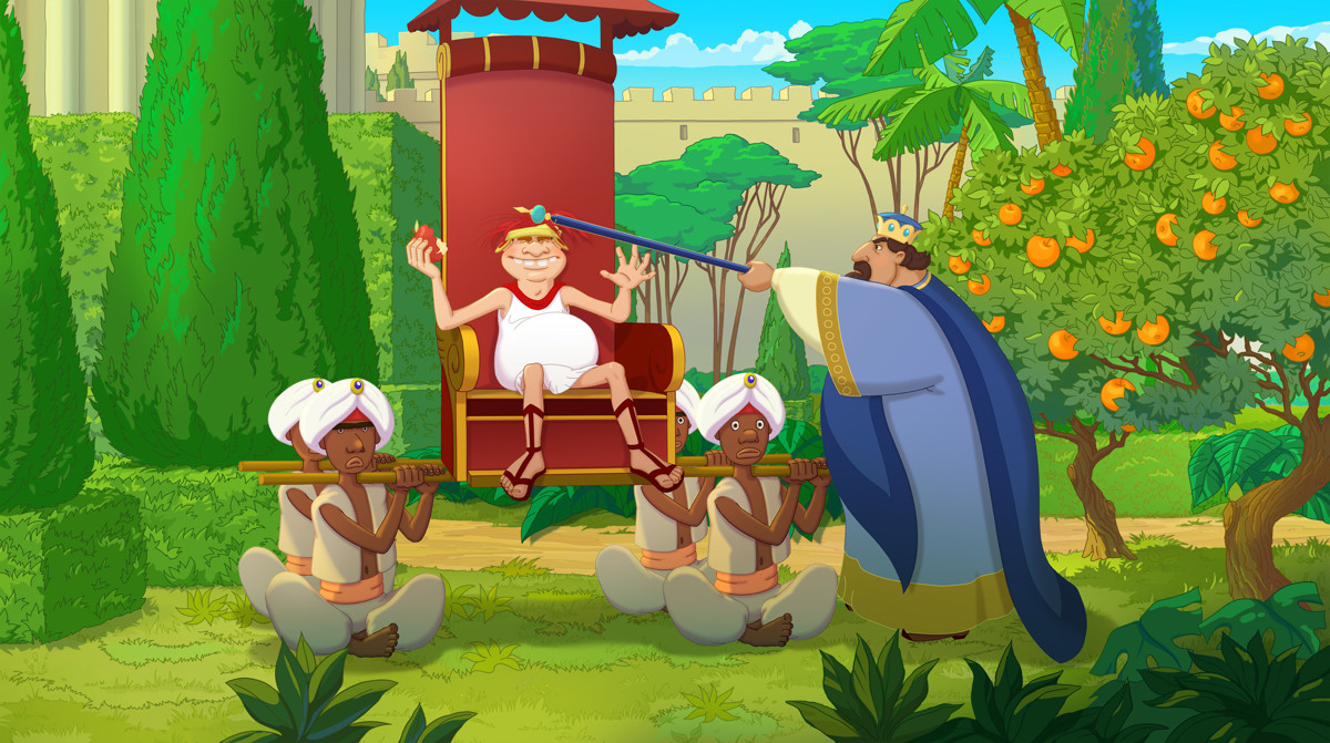 Три богатыря и Наследница престола кадр 15