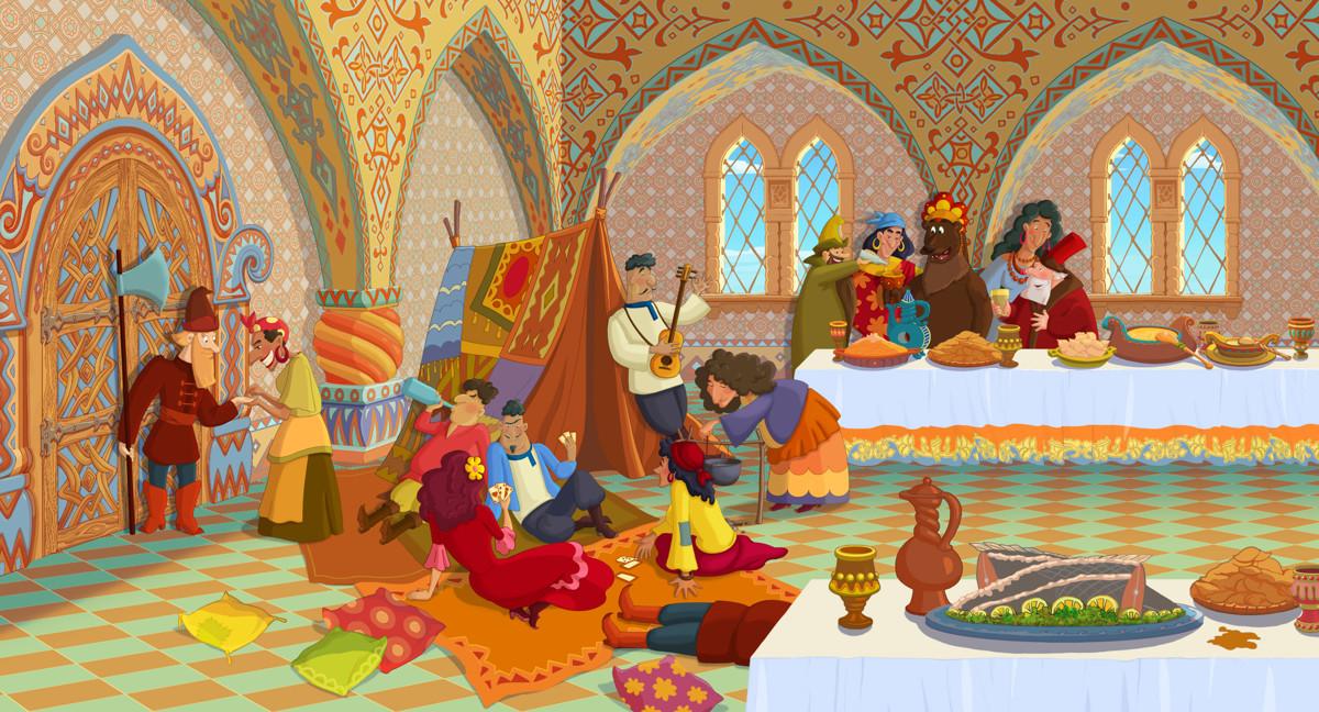 Три богатыря и Наследница престола кадр 8