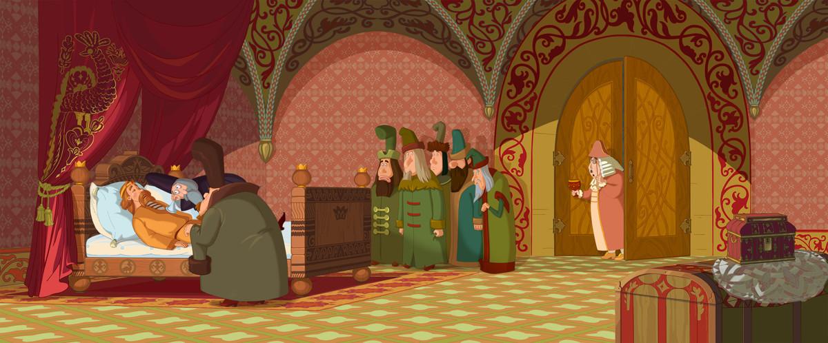 Три богатыря и Наследница престола кадр 9