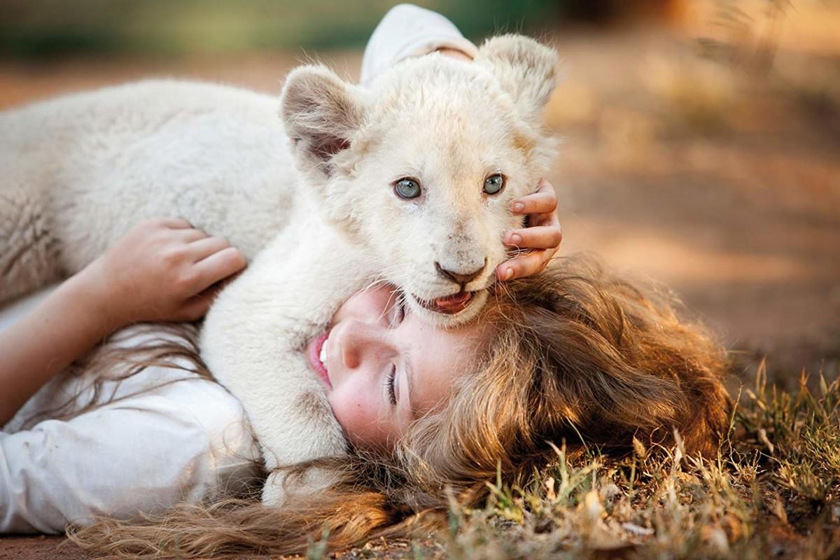 смотреть Девочка Миа и белый лев в кинотеатрах