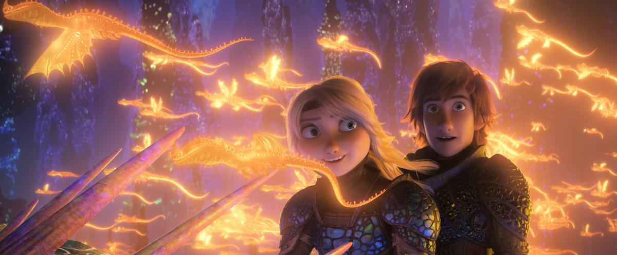смотреть Как приручить дракона 3 в кинотеатрах Москвы
