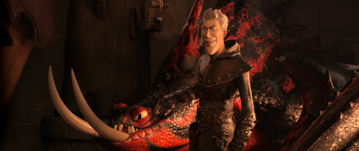 Как приручить дракона 3 кадр 3