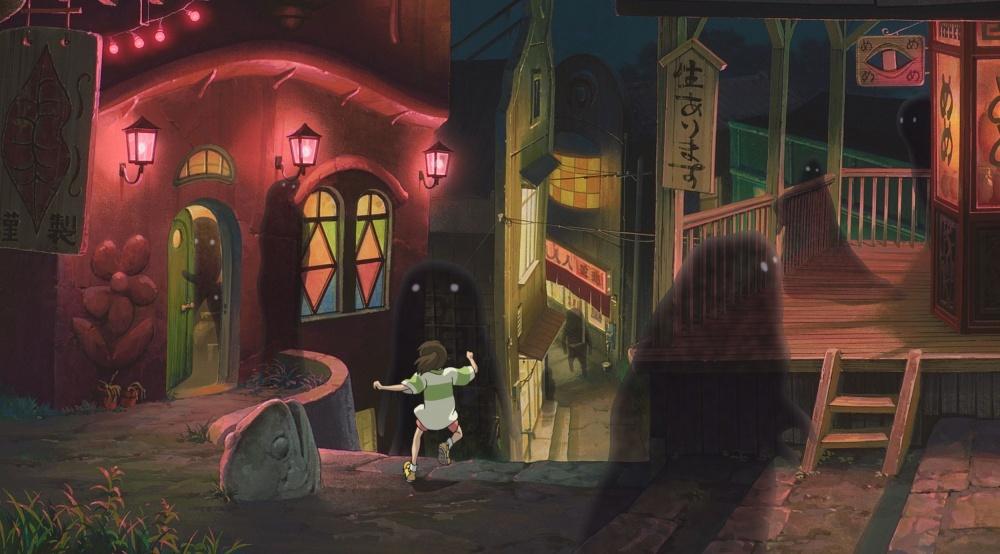 смотреть Унесённые призраками в кинотеатрах
